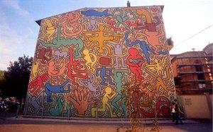Keith Haring, 1989, Pisa