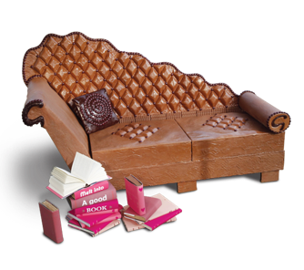 Il divano di cioccolato di Prudence Staite