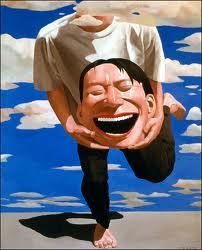 Yue MinJun, Senza titolo, 1994