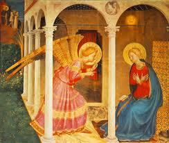 Beato Angelico, Annunciazione, 1433-34, Museo Diocesano di Cortona