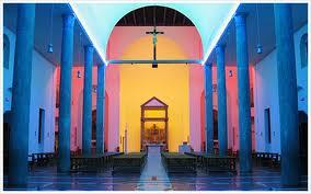 Dan Flavin, Chiesa Rossa, Milano, 1996