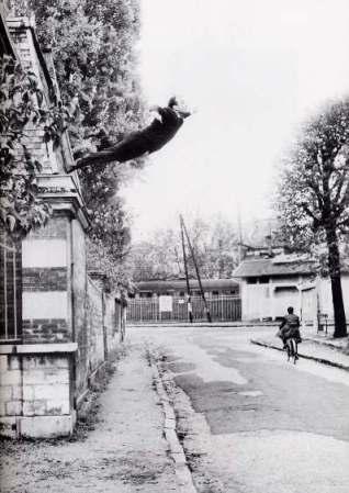 Yves Klein, Le saut dans le vide,1960