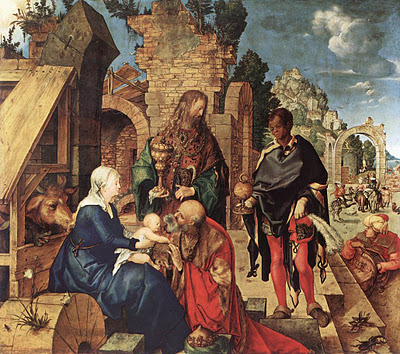 Albert Durer, Adorazione dei Magi,Uffizi