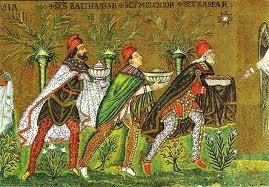 I re magi, Sant'Apollinare Buovo, Ravenna