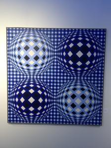Victor Vasarely, Vega-Okta, 1972-74