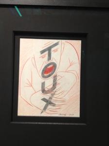Victor Vasarely, Toux, studio per pubblicità farmaceutica