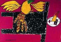 Corneille,Il burattino e l'uccello,1973