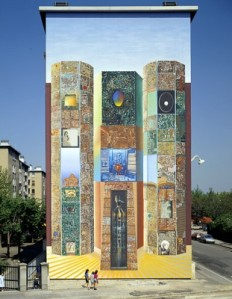 Murales. Lione