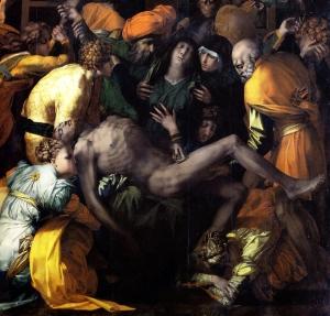 Rosso Fiorentino, La deposizione, San Sepolcro