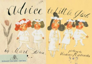 Una tavola di Advice to little girls, da Brain pickings
