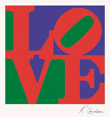 Robert Indiana, Love, 1966