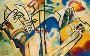 Wassily Kandinsky, Composizione IV, 1911