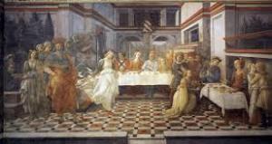 Filippo Lippi, Danza di Salomè,
