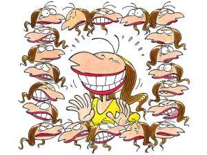 risata, di Silvia Ziche