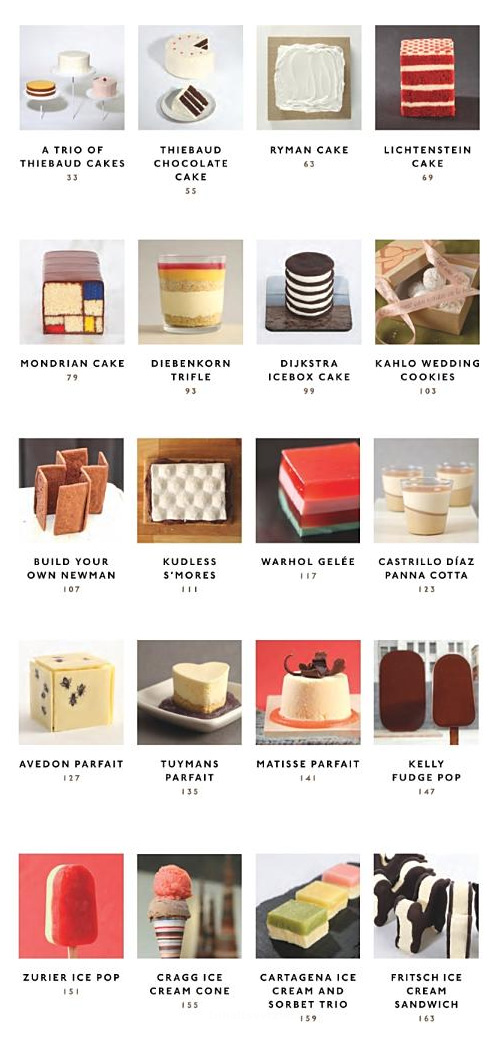 Modern Art Desserts Recipes For Cakes