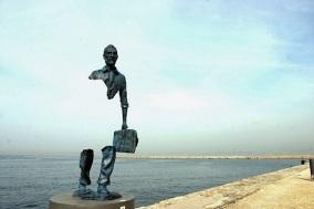 le statue incomplete di Catalano
