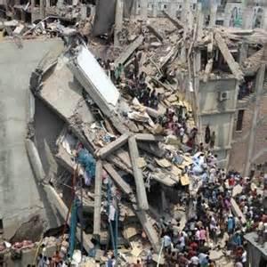 Bangladesh, crollo palazzo