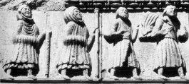 Corteo di Pellegrini: Fidenza, Cattedrale
