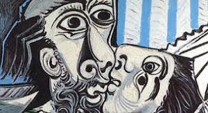 Pablo Picasso, Il bacio,