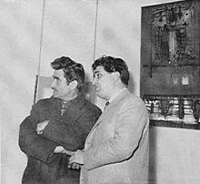 Alberto Burri, Scanavino