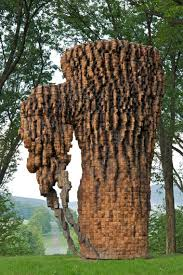 Ursula Von Rydingsvard, Right Arm Bowl