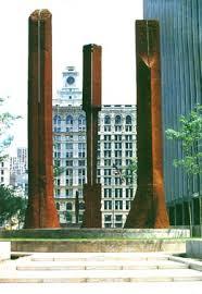 Beverly Pepper, Sentinels, New York