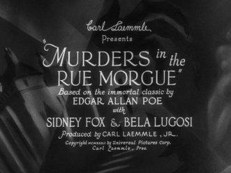 murders rue morgue title