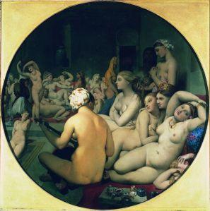 Jean-Auguste-Dominique Ingres, Le Bain turc,1862