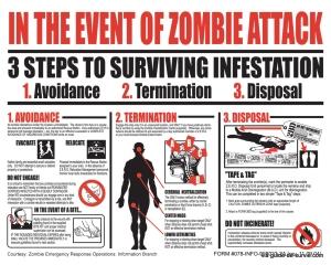 Come prepararsi all'apocalisse zombie