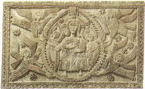 Cristo in gloria fra i cherubini, altare di Ratchis,Cividale del Friuli