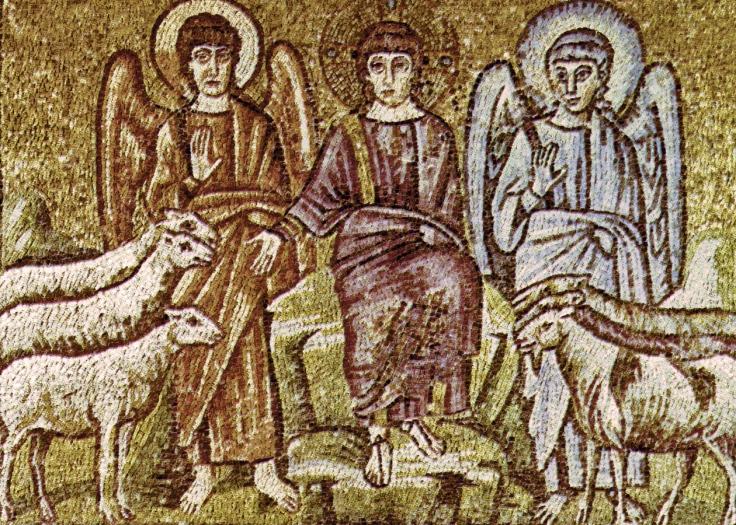 Gesù separa le pecore dalla Capre, Ravenna Sant'Apollinare Nuovo