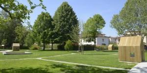 Il giardino, opera architettonica di Lapo Ruffi e Angiola Mainolfi