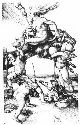 Dürer, La strega