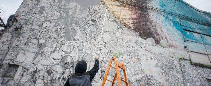 Blucancella i suoi murales