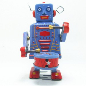 Stagno-classico-Vento-Fino-Giocattoli-Robot-Giocattolo-D-epoca-per-I-Ragazzi-Bambini-Regalo-Di-Natale