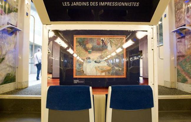 treno dell'impressionismo